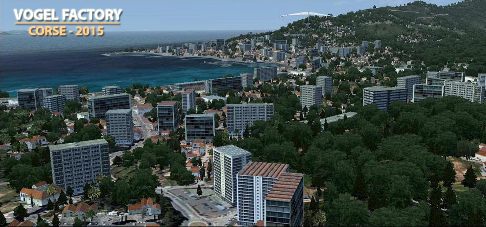 Autogen Complet] - Corse : version 2015 + Rev2017 pour P3Dv4