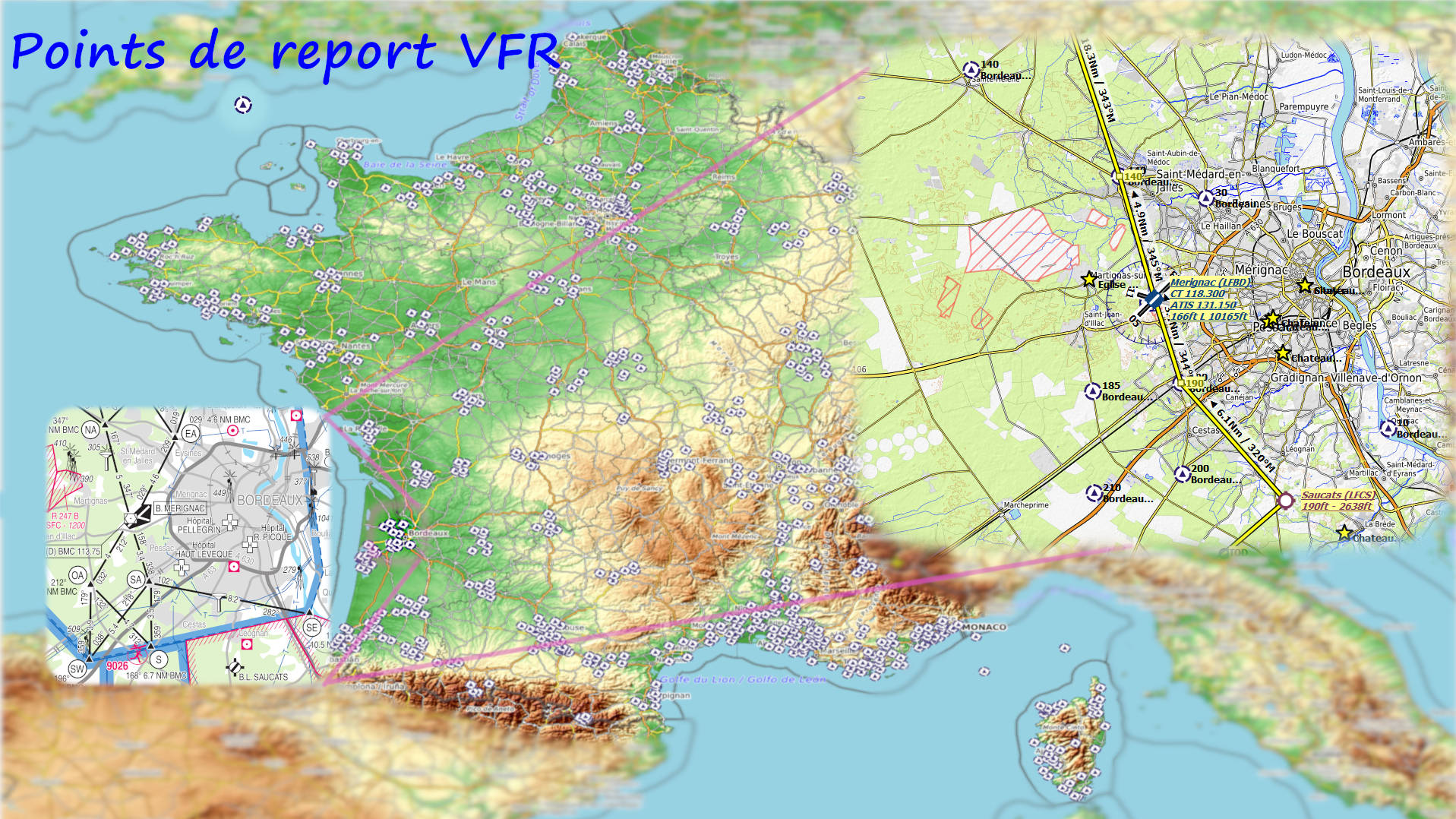 Points de report VFR